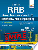 Free Sample) Guide to RRB Junior Engineer Stage II Electrical and Allied Engineering