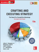 Crafting & Executing Strategy 19/e