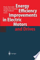 Energy Efficiency Improvements in Electronic Motors and Drives Book