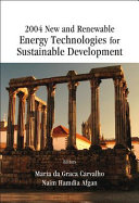 2004 New and Renewable Energy Technologies for Sustainable Development  Evora  Portugal  28 June 1 July 2004