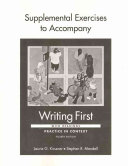 Supplemental Exercises to Accompany Writing First