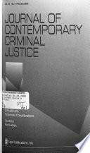 Journal of Contemporary Criminal Justice