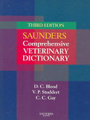 Saunders Comprehensive Veterinary Dictionary Book PDF