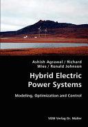 Hybrid Electric Power Systems Book PDF