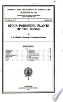 Stock-poisoning Plants of the Range
