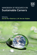 Handbook of Research on Sustainable Careers