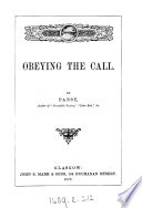 Obeying the call  by Pansy Book