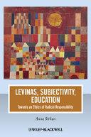 Levinas  Subjectivity  Education