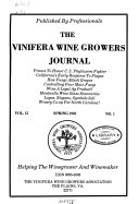 The Vinifera Wine Growers Journal