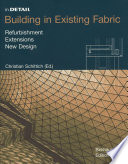 Building in Existing Fabric