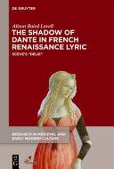 The Shadow of Dante in French Renaissance Lyric Pdf/ePub eBook