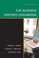 The Business Writer s Handbook  Eighth Edition