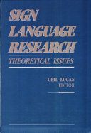 Sign Language Research