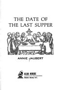 The Date of the Last Supper Book