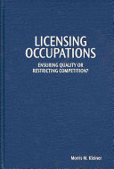 Licensing Occupations