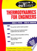 Schaum's Outline of Theory and Problems of Thermodynamics for Engineers  , Band 1