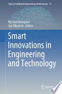 Smart Innovations in Engineering and Technology