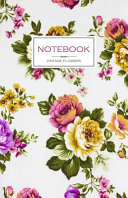 Notebook Vintage Flowers