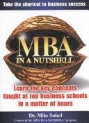 MBA in a Nutshell
