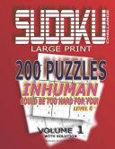 Sudoku Puzzles Inhuman