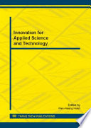 Innovation for Applied Science and Technology