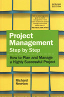 Project Management Step by Step Book