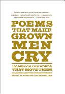 Poems That Make Grown Men Cry Pdf/ePub eBook