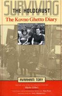 Surviving the Holocaust The Kovno Ghetto Diary Pdf/ePub eBook