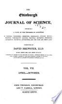The Edinburgh Journal of Science Book