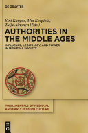 Authorities in the Middle Ages Pdf/ePub eBook