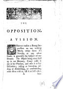 The Opposition A Vision