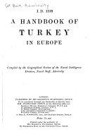 A Handbook of Turkey in Europe
