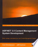 ASP  Net 3  5 CMs Development