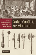 Order  Conflict  and Violence