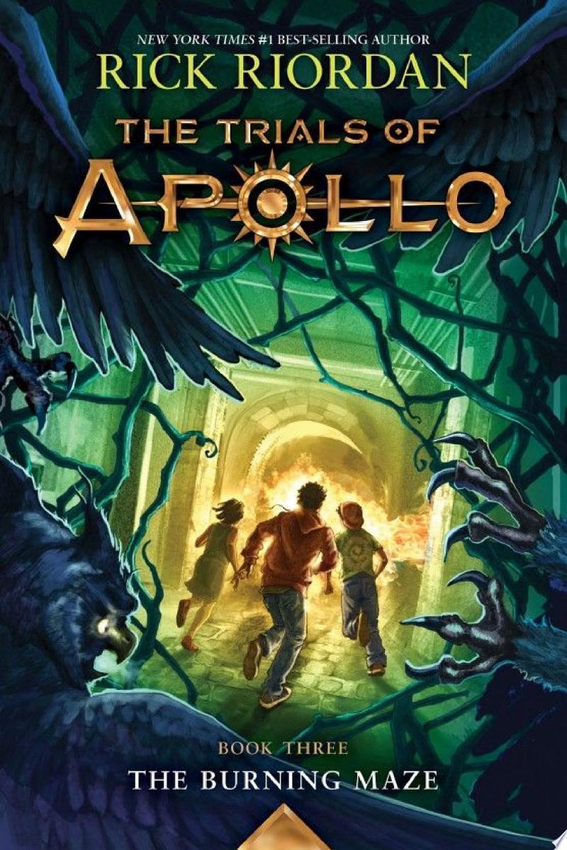 The Trials of Apollo, Book Three: The Burning Maze image