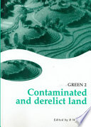 Read Online Contaminated and Derelict Land For Free