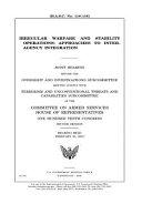 Irregular Warfare and Stability Operations