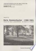 Herta Hammerbacher (1900-1985)