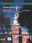 American History Book