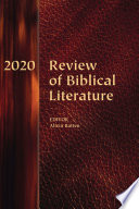 Review Of Biblical Literature 2020