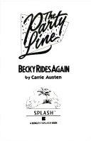 Becky Rides Again