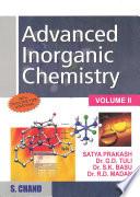 Advanced Inorganic Chemistry   Volume II Book