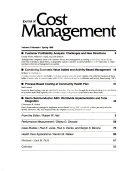Journal of Cost Management