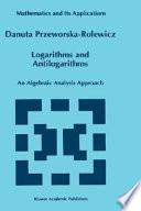 Logarithms and Antilogarithms