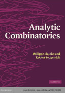 Analytic Combinatorics