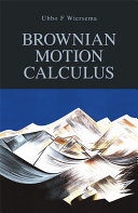 Brownian Motion Calculus - Seite 300