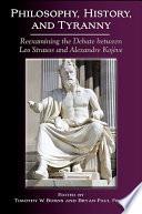 Philosophy  History  and Tyranny