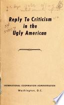 The Ugly American Pdf/ePub eBook