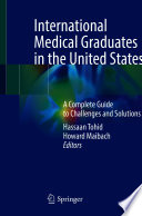 International Medical Graduates in the United States Book