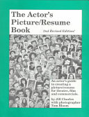 The Actor s Picture resume Book